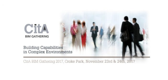 Book your tickets for the CitA BIM Gathering today, last few places available!