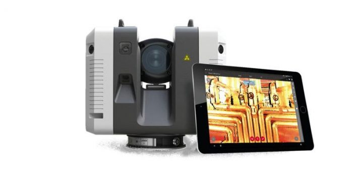 LES displaying Leica and GeoSLAM products at CitA Tech Live