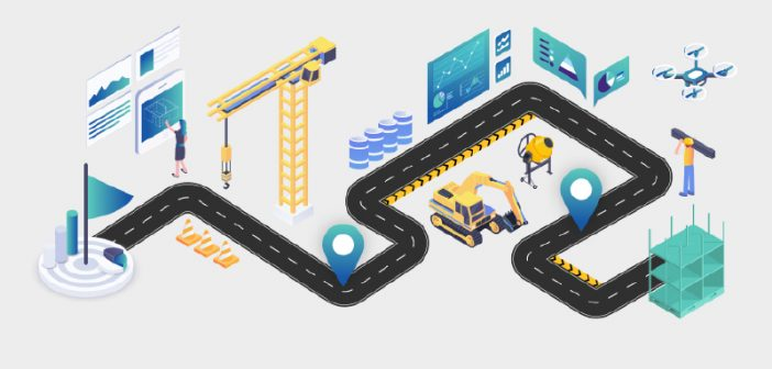 Infographic and survey to help you plot your digital construction journey and define your next steps