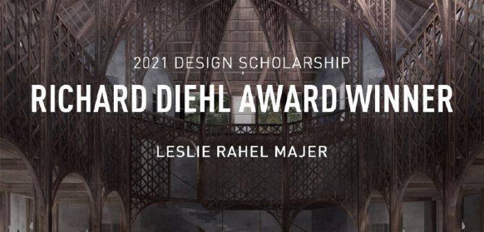 Vectorworks, Inc. names Leslie Majer 'Richard Diehl Award' Winner